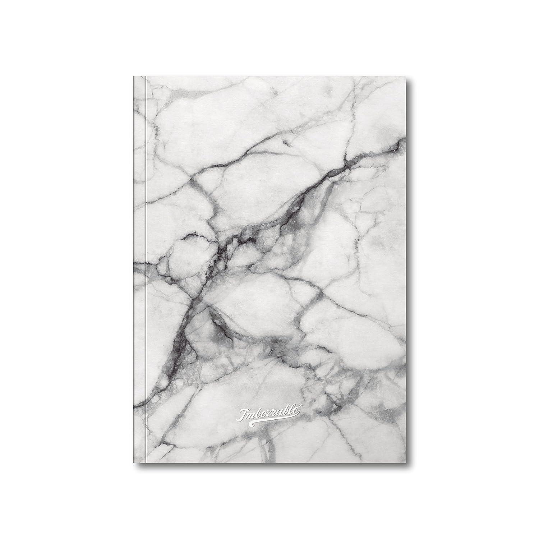 Imborrable Mármol - Quaderno per appunti con carta puntinata, 144 pagine, formato A5, 14,8 x 21 cm, colore: bianco 0207103
