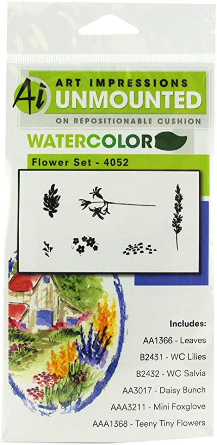 Amazon.com: Arte Impresiones 4052 Acuarela Serie