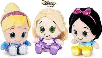 Amazon.es: Dsney Famosa Softies - Pack de 3 Peluches Rapunzel ...