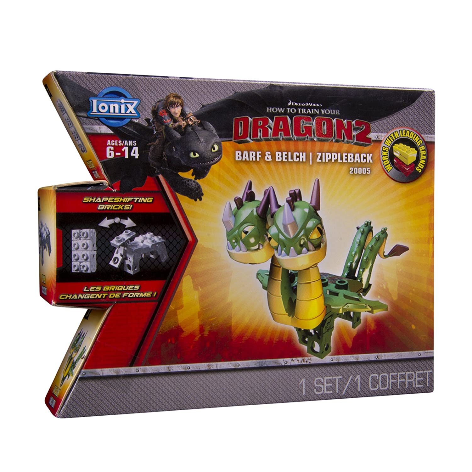 Amazon ionix dragons how to train your dragon 2 barf and belch amazon ionix dragons how to train your dragon 2 barf and belch zippleback 20005 figure toys games ccuart Choice Image