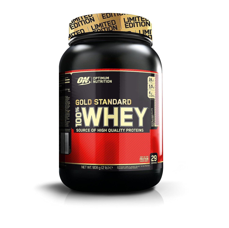 Optimum Nutrition Gold Standard 100% Whey Proteína en Polvo, Chocolate Blanco y Frambuesa, 899 gr: Amazon.es: Salud y cuidado personal