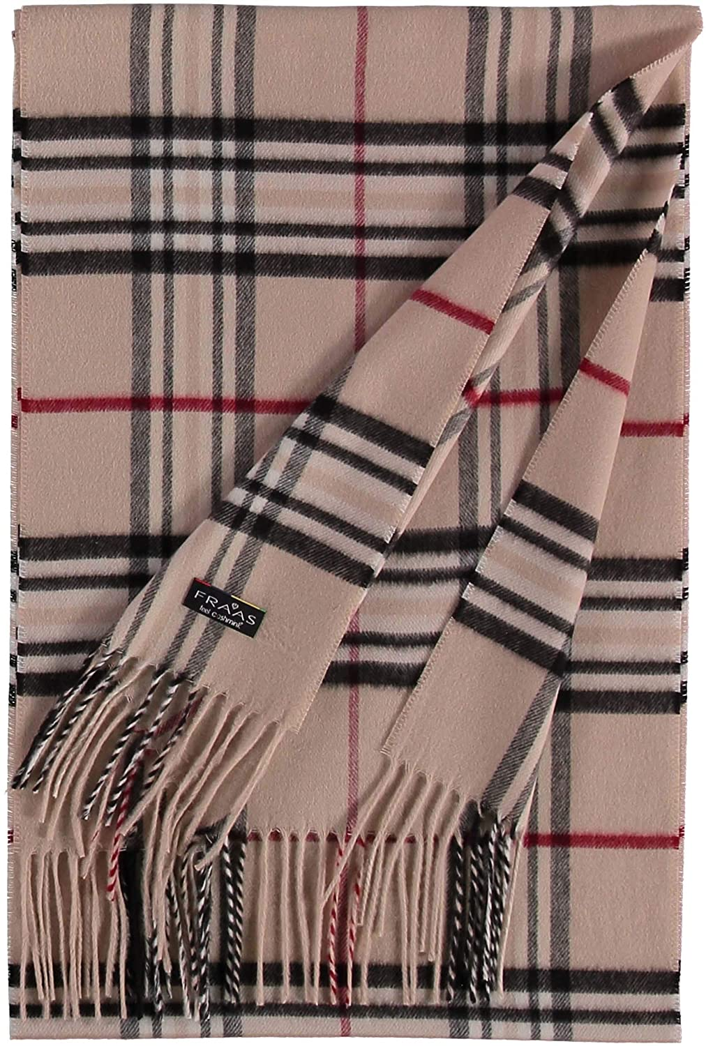 FRAAS Schal aus reinem Cashmink f/ür Damen /& Herren XXL-Schal weicher als Kaschmir The Plaid Made in Germany Perfekt f/ür die /Übergangszeit