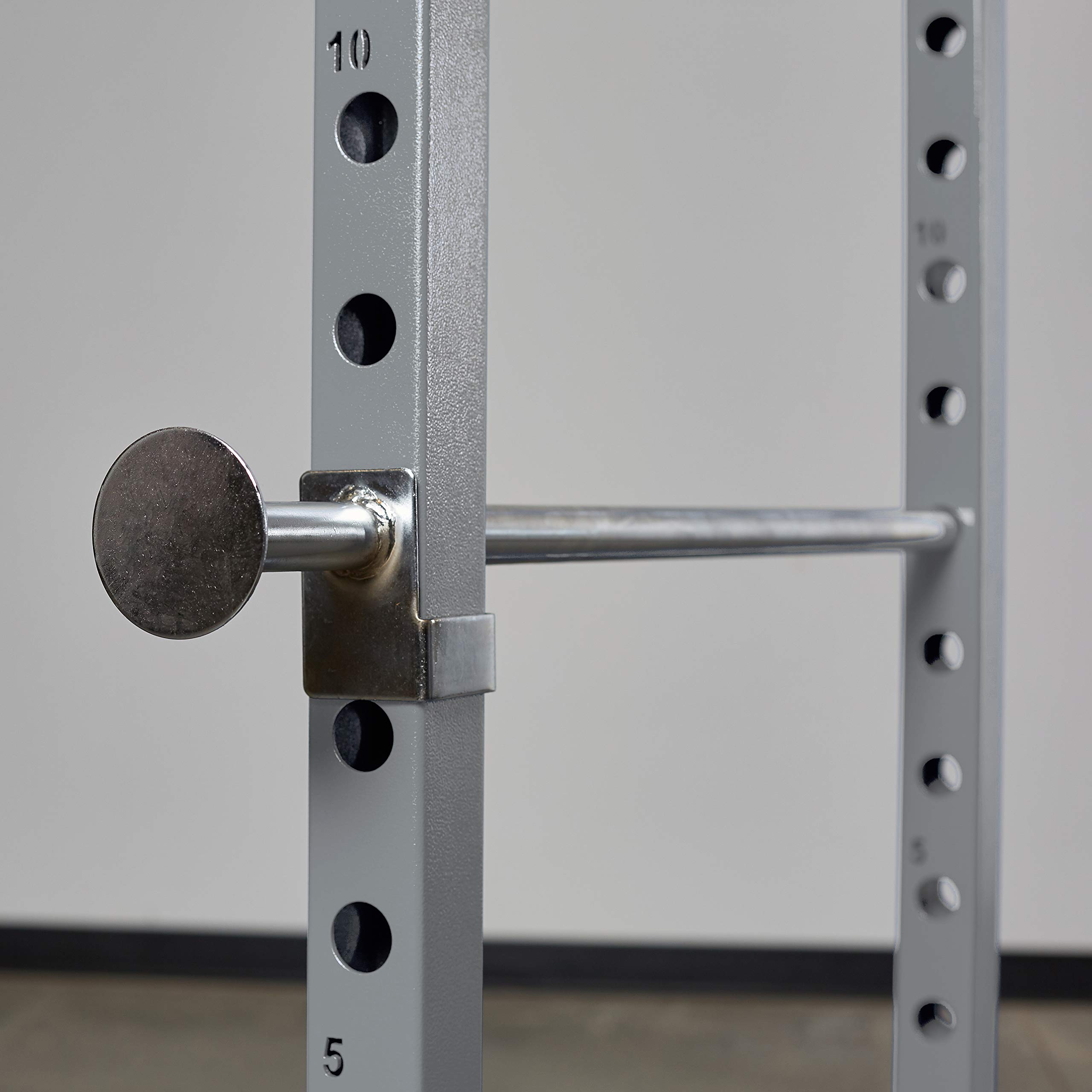 Rep PR-1100 Power Rack - 1,000 lbs Rated Lifting Cage for Weight Training (Silver Power Rack, No Bench) by Rep Fitness (Image #3)