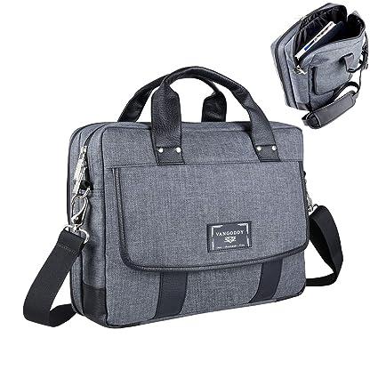 11-12.5 Inch Laptop Shoulder Messenger Bag Briefcase Sleeve Backpack for 2 -in- 0a22c5ff90c8f