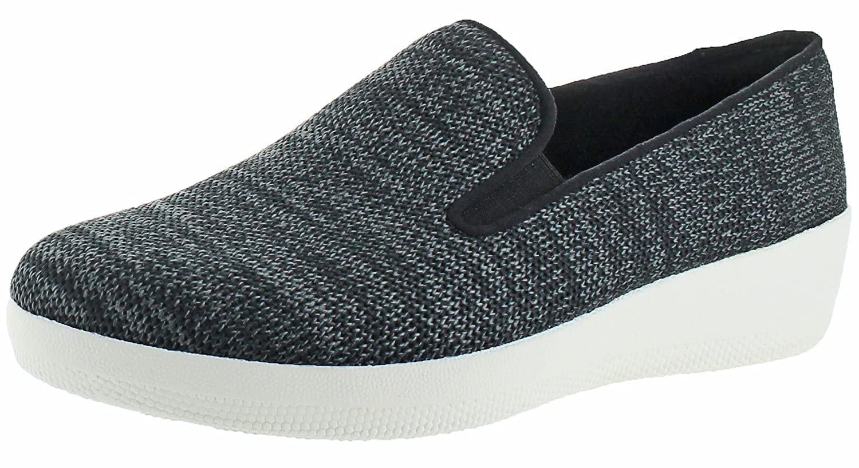 3f1ef482 FitFlop Women's Superskate Uberknit Slip-On Textile Loafers Shoes | eBay