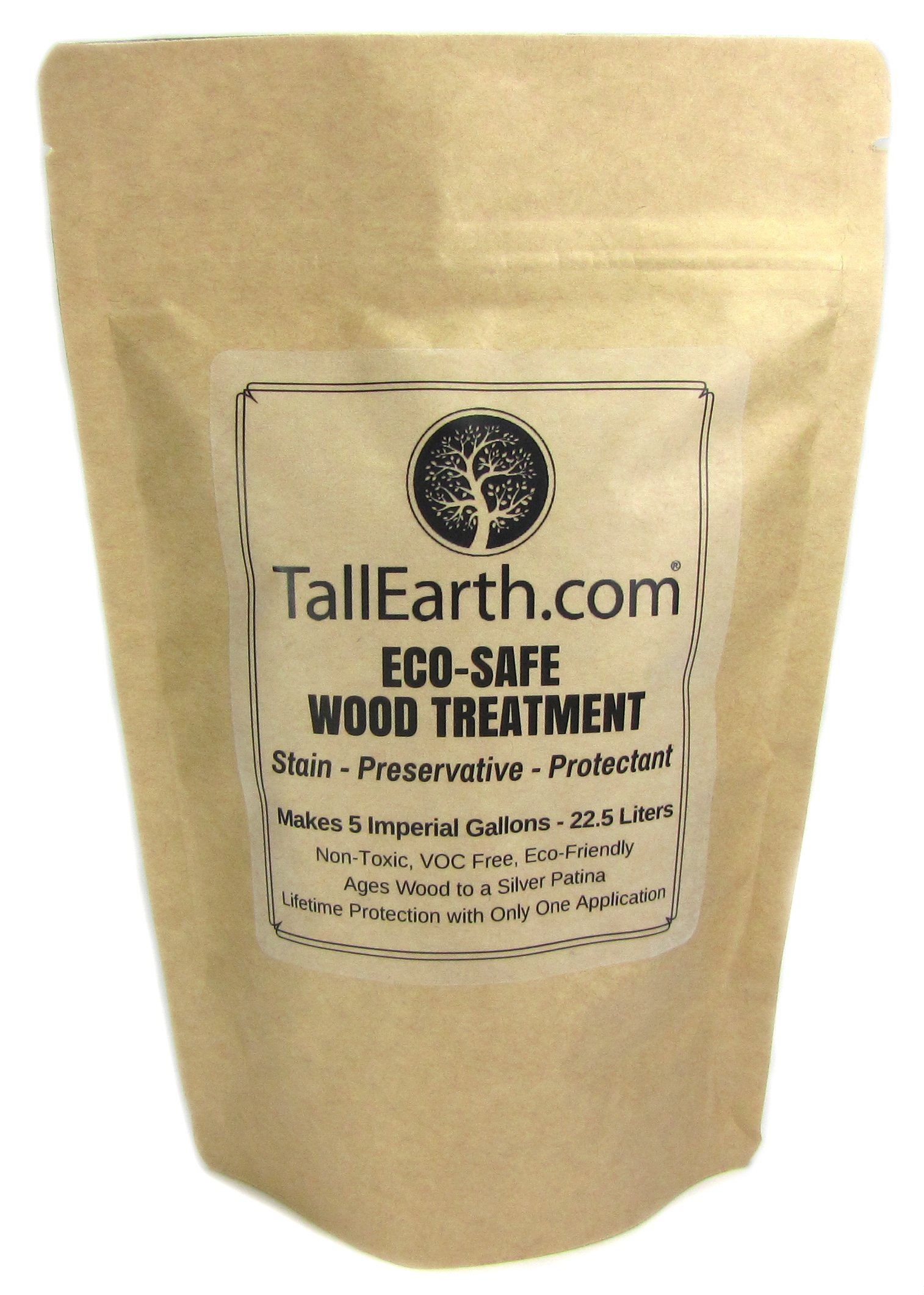 Tall Earth Teeswt5g Eco Safe Wood Treatment Stain And
