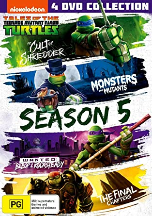 Teenage Mutant Ninja Turtles : Season 5 / Boxset 4 Dvd ...