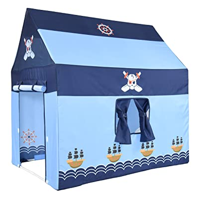 NARMAY Play Tent Pirate Club Playhouse for Kids Indoor / Outdoor Fun - 40 x 28 x 40 inch: Toys & Games