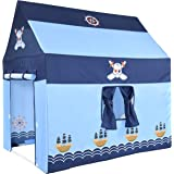 NARMAY Play Tent Pirate Club Playhouse for Kids Indoor / Outdoor Fun - 40 x 28 x 40 inch