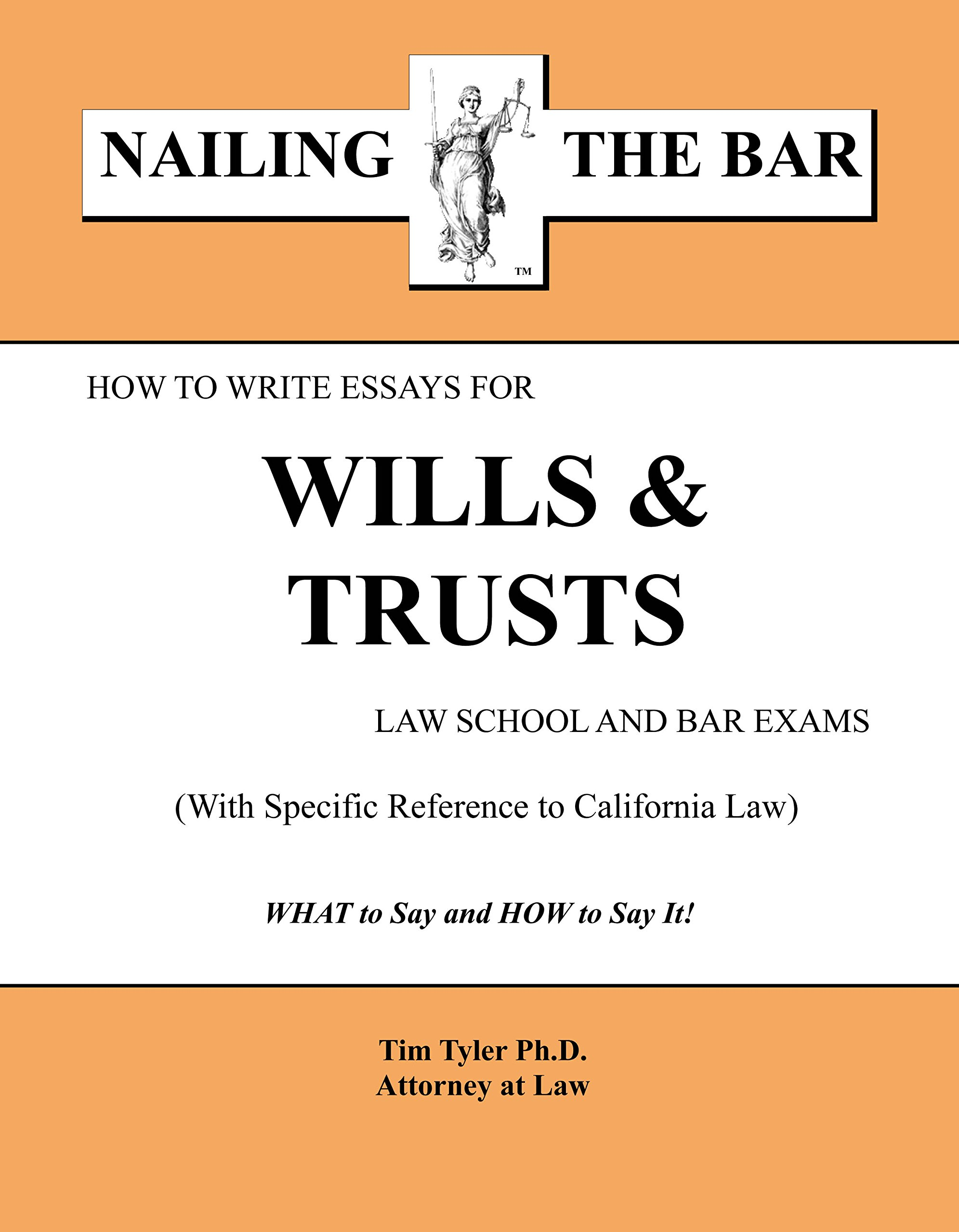 How to Write Essays for Wills and Trusts Law School and Bar Exams (HI) pdf epub