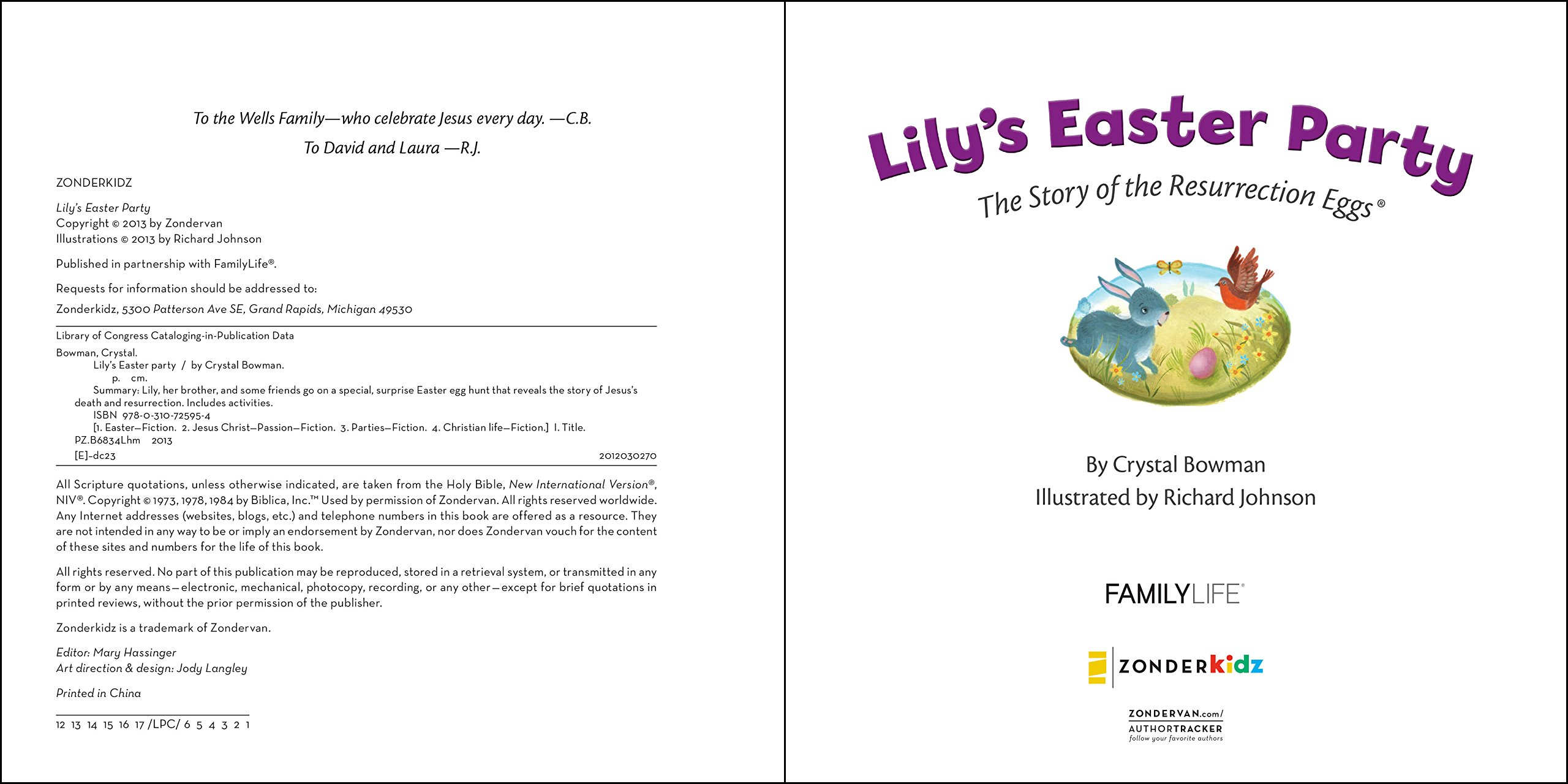 Amazon Lilys Easter Party The Story Of The Resurrection Eggs