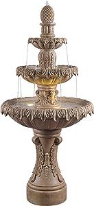 Kenroy Home 51084SNDST Ibiza Fountains, Sandstone