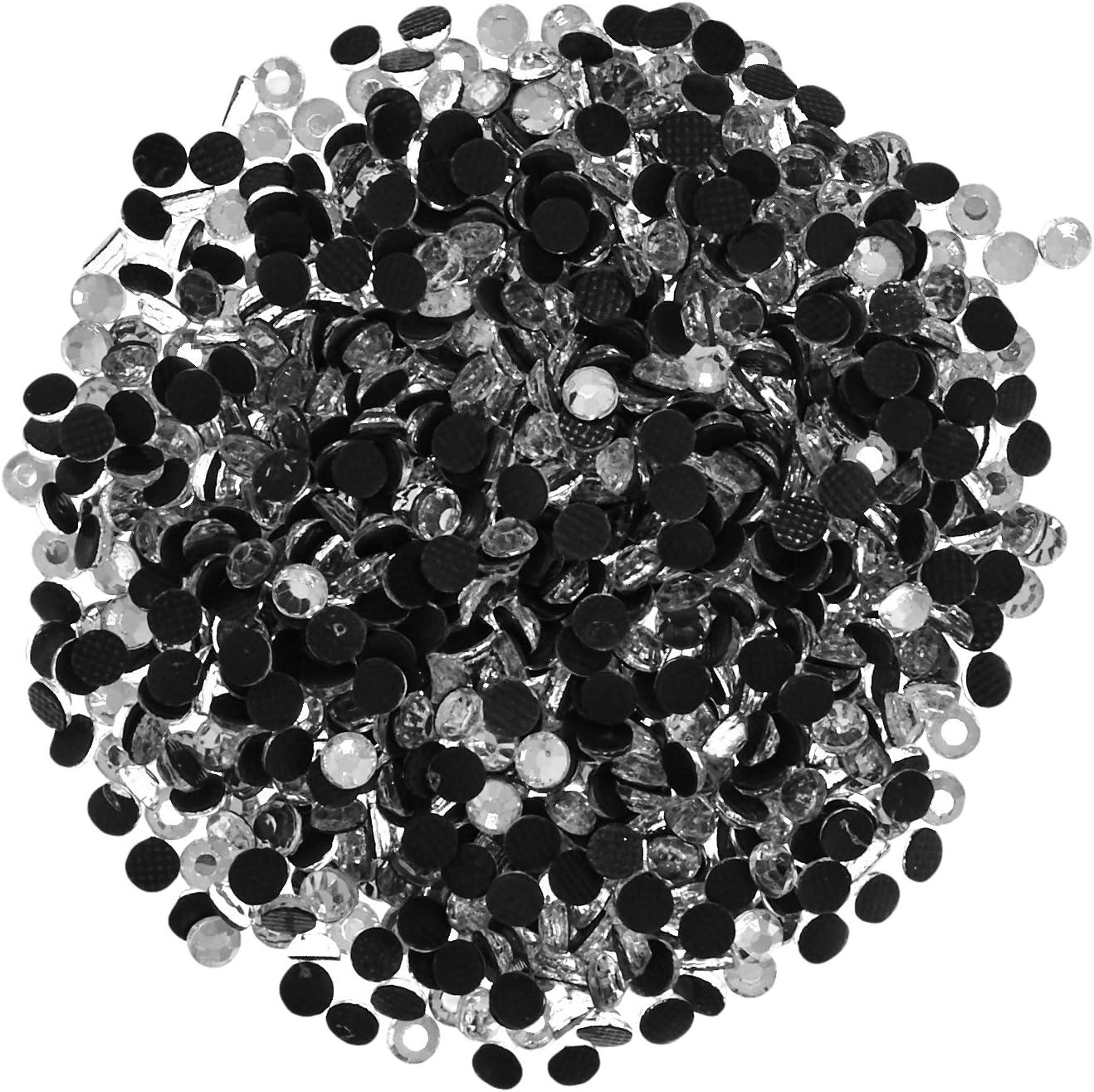 Darice Setter Strass Hot-Fix abbellimenti 3mm 1000/Pkg-cristallo Pietra di vetro
