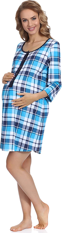 Italian Fashion IF Camicia da Notte Premaman M003