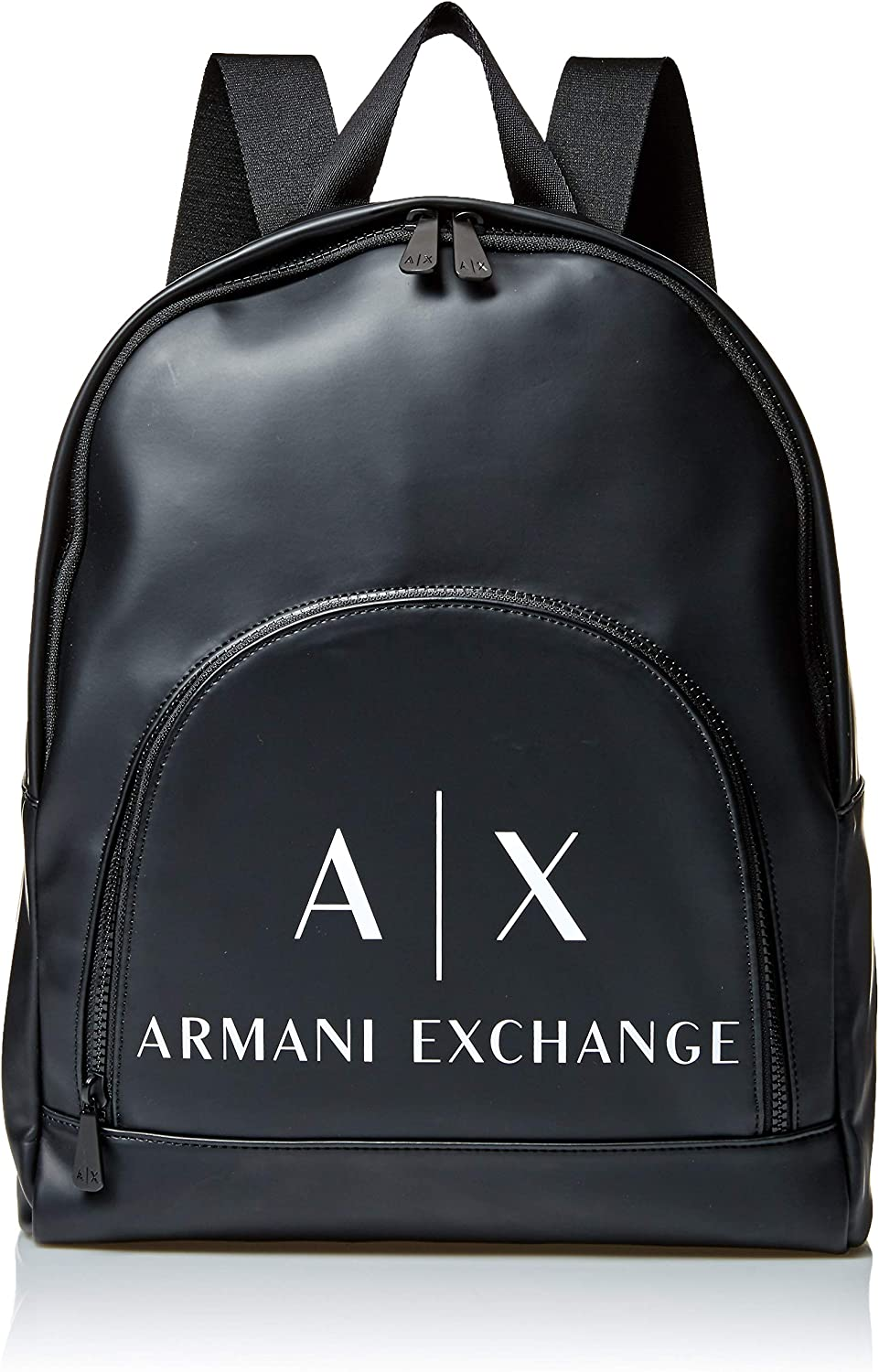 A X Armani Exchange Logo Front Pocket Backpack