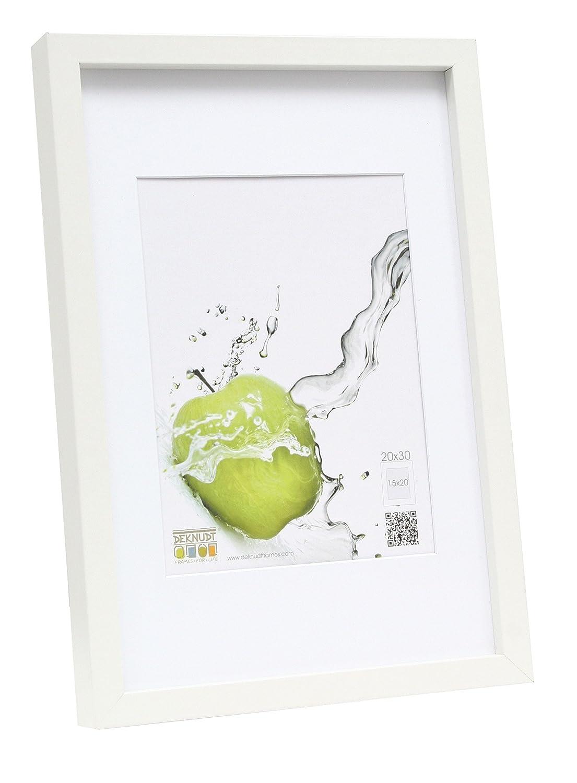 Deknudt Frames S40AK1 P1 40x60 marco blanco madera: Amazon.es: Hogar