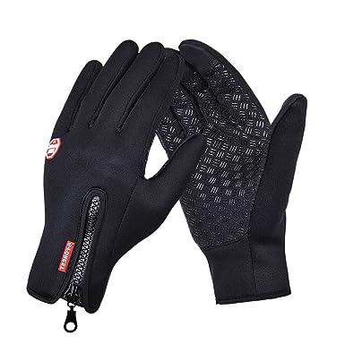 abd03778a9dfc9 Unie Sex Touchscreen Handschuhe Warm Winter Handschuhe Motorrad Outdoor  Fäustlinge Jagd Wandern Radfahren Bike Handschuhe Frauen