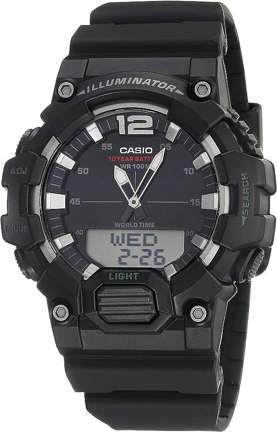 Casio HDC700 1AV Black Resin Japanese Quartz Sport Watch