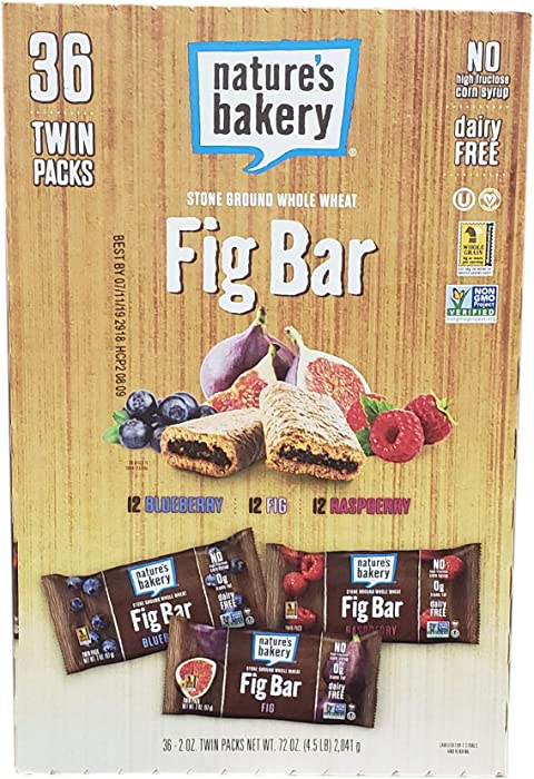 The Best Natures Bakery Apple Cinommon Fig Bar 36 Count
