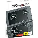 New 3ds xl Galaxy Style ou preto ou pikachu amarelo novo com 20 jogos na memória