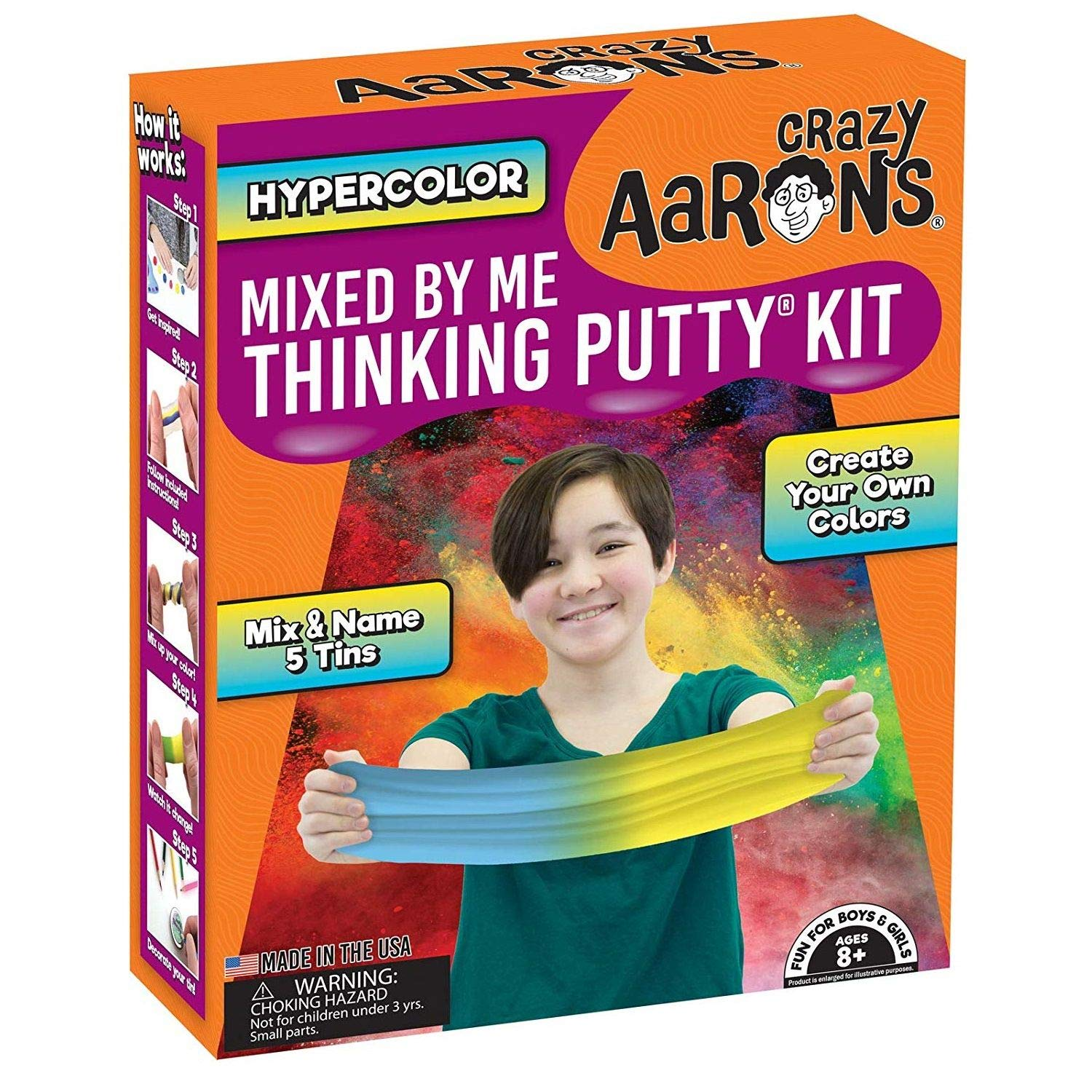 amazon com crazy aaron s mixed by me thinking putty kit