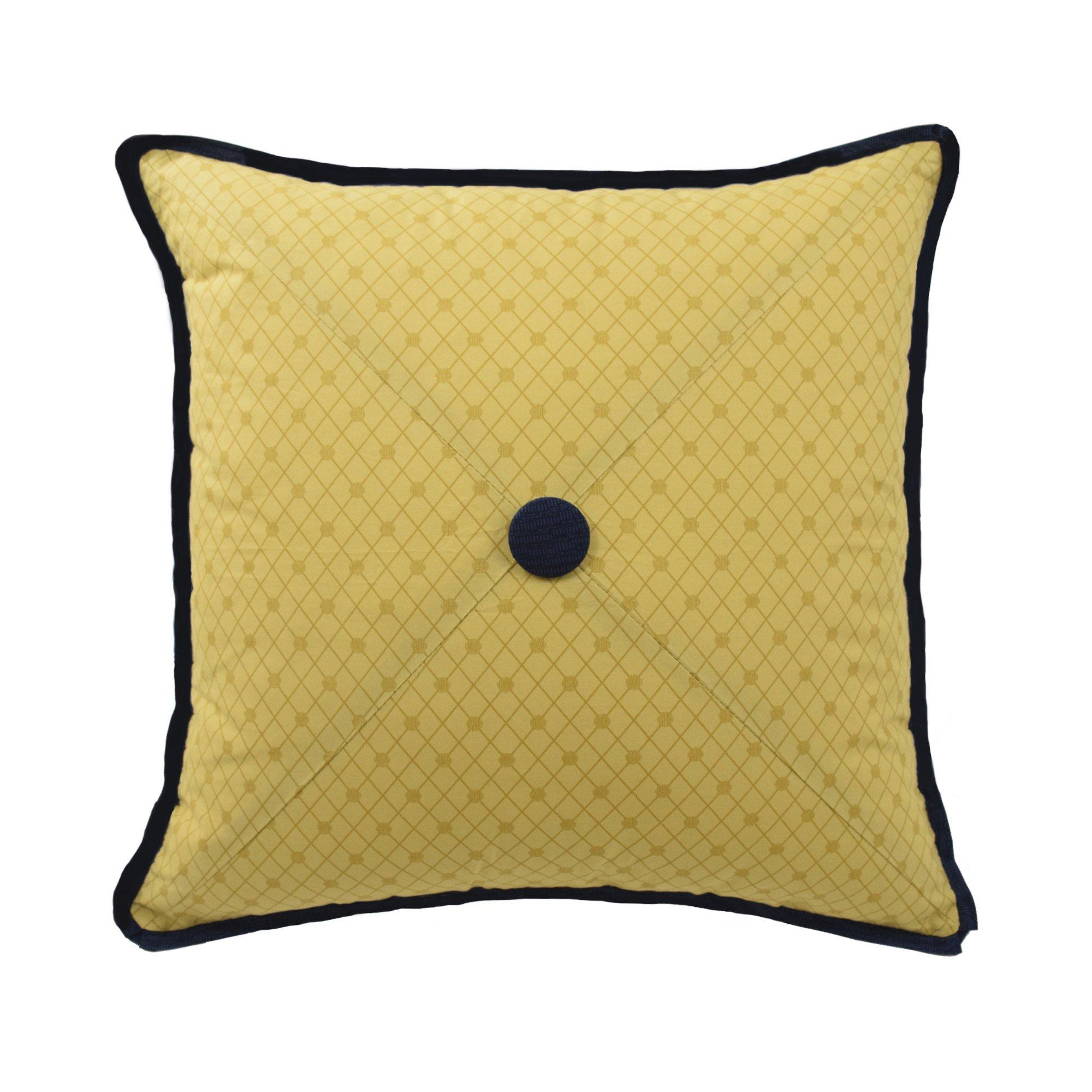 WAVERLY 14564018X018JWL Rhapsody 18-Inch by 18-Inch Square Decorative Pillow, Jewel