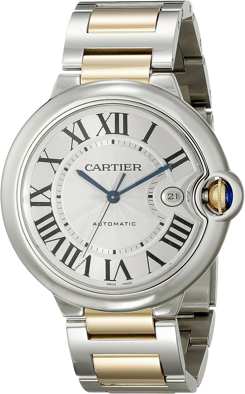 Cartier Ballon Bleu - Reloj (Reloj de Pulsera, Femenino, Oro, Acero, Oro, Acero Inoxidable, Oro, Acero, Oro, Acero Inoxidable)