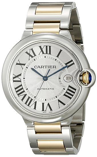 Cartier Ballon Bleu - Reloj (Reloj de Pulsera, Femenino, Oro, Acero,