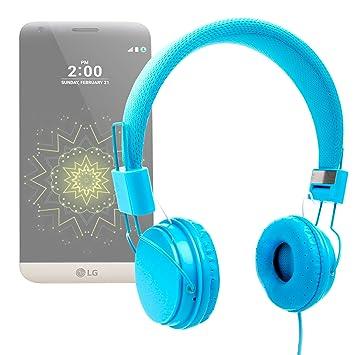 DURAGADGET Auriculares De Diadema Color Azul para Smartphone Meizu ...