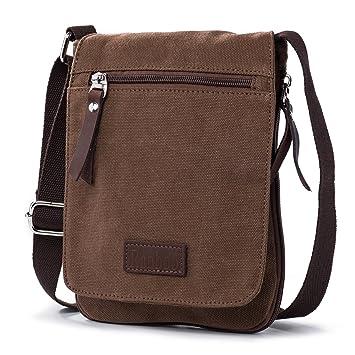 69146cbbe046 Ranboo Small Crossbody Purse Men Satchel Shoulder Bags Cellphone Holster  Belt Pouch Handbag Everyday Bag Waist