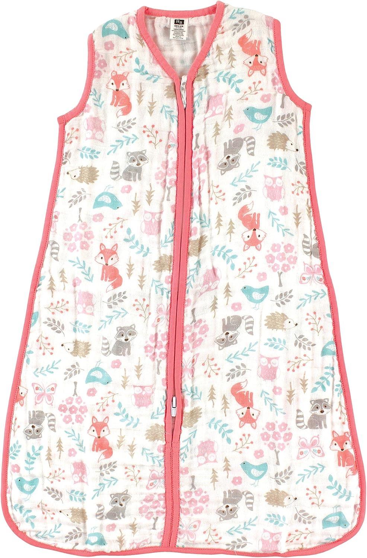Hudson baby Unisex-Baby Wearable Safe Sleep Muslin Sleeping Bag Sleepers