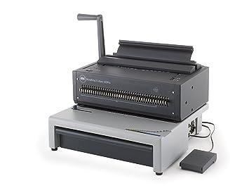 GBC Encuadernadora wiro WireBind E-Karo 40Pro - Máquina de encuadernación (385 mm,