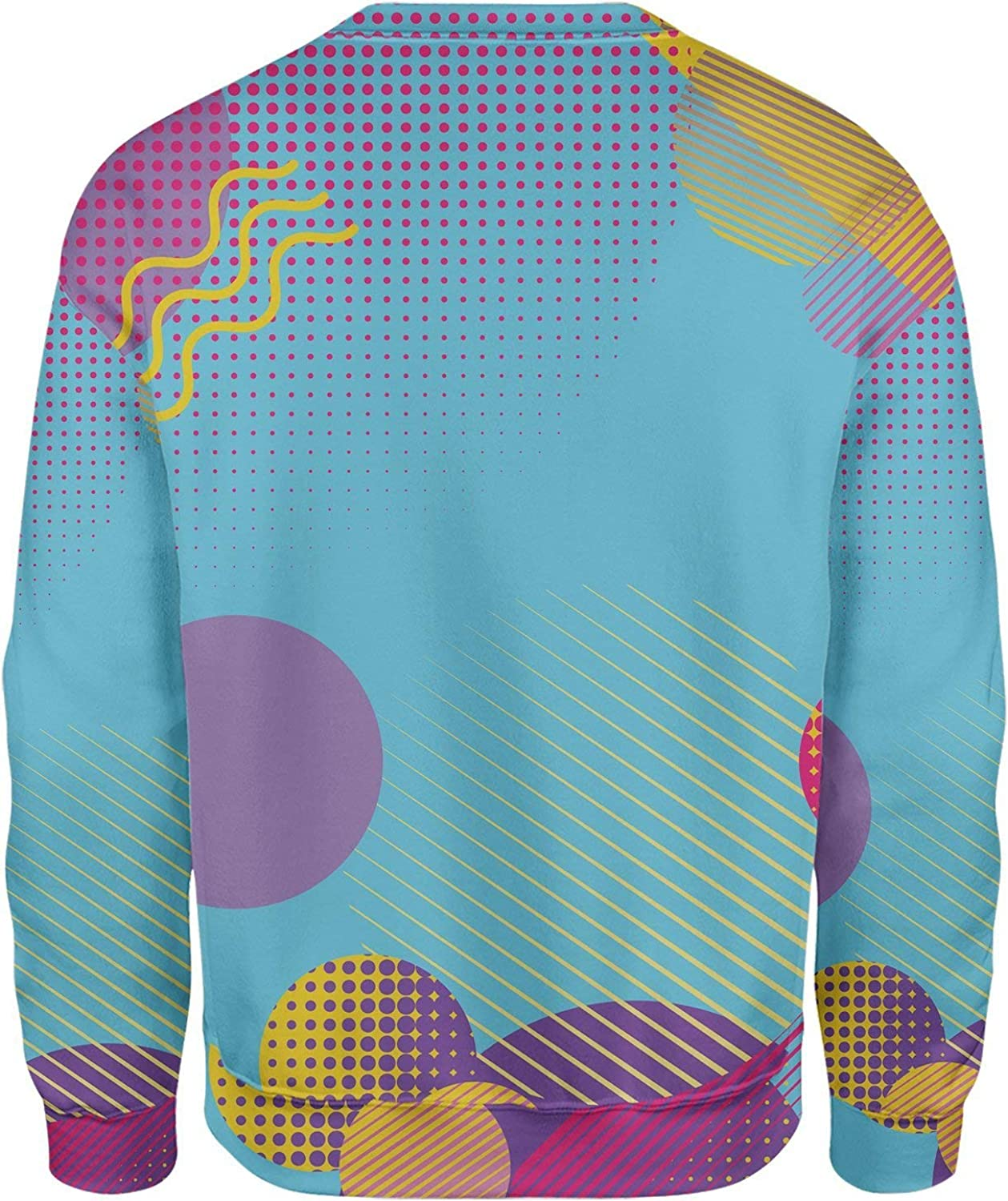 All Over Shirts Retro Dojo Circles Sweatshirt