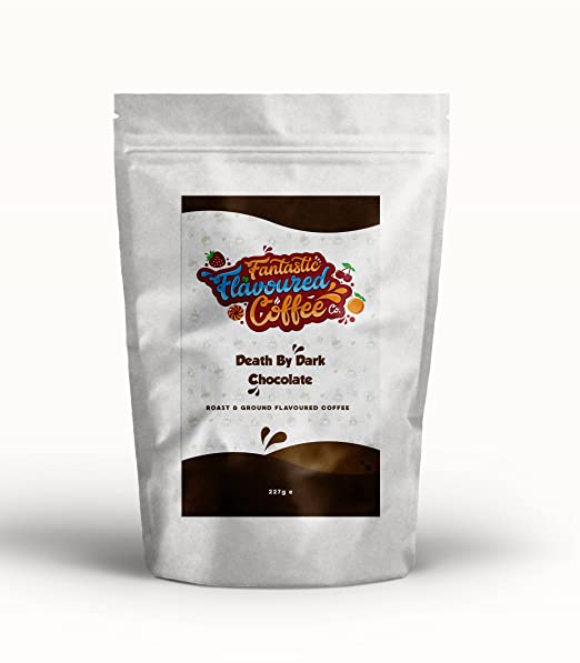 Café Molido Tostado Aromatizado, Fantastic Flavoured Coffee Co, Compatible con Todas las Cafeteras,