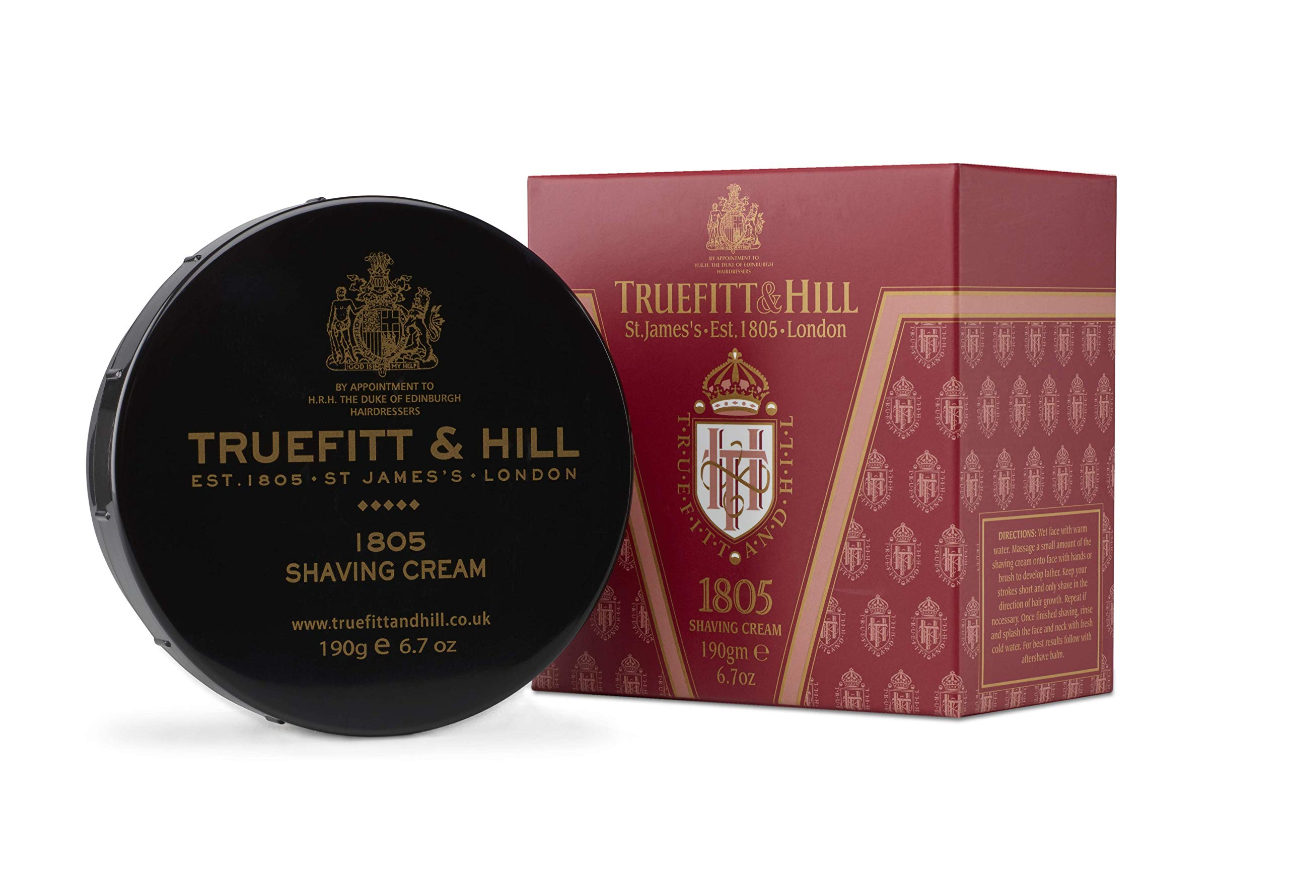 Truefitt & Hill Shave Cream Bowl-1805 (6.7 ounces) by Truefitt & Hill