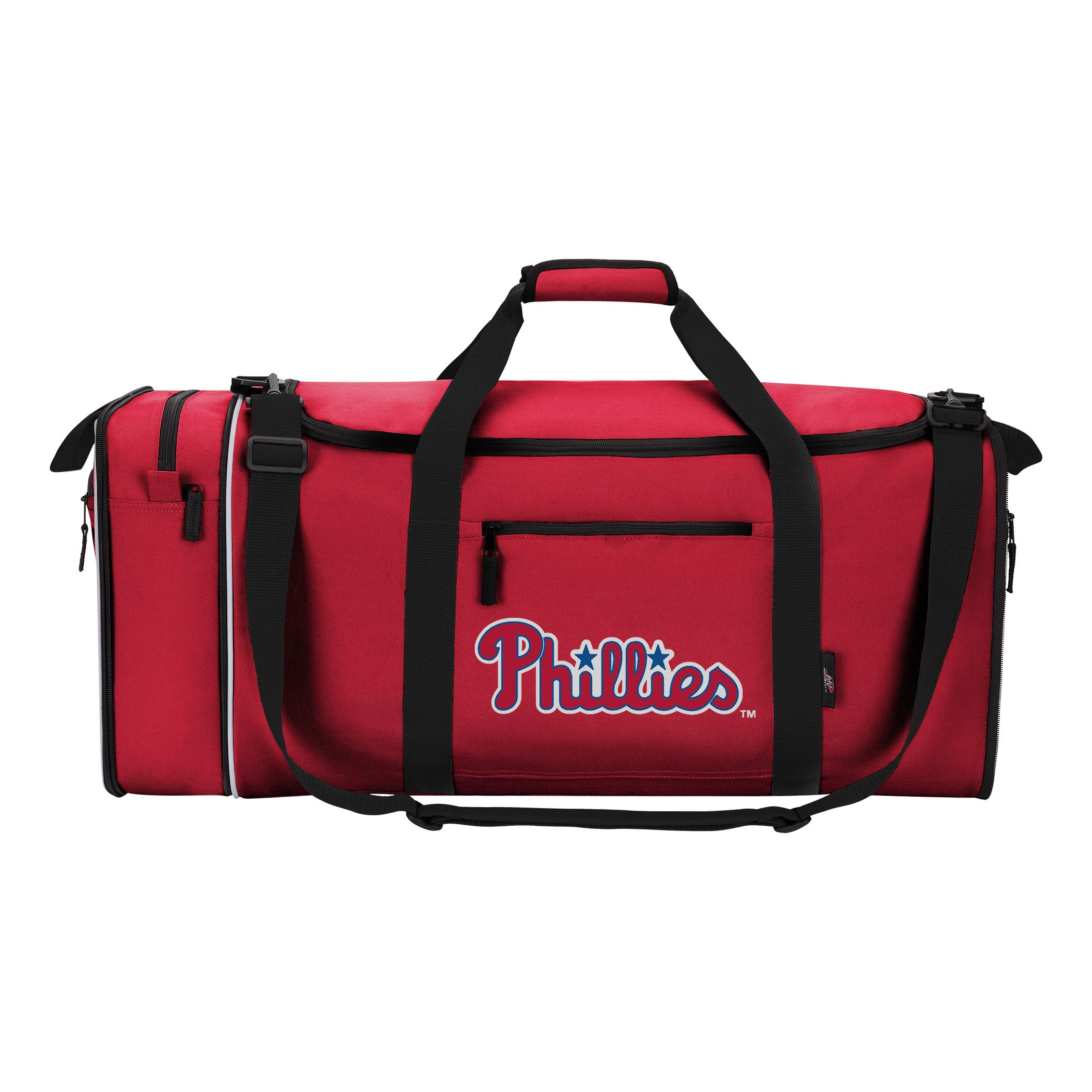 The Northwest Company Officially Licensed MLB Philadelphia Phillies Steal Duffel Bag, 28'' x 11'' x 12''