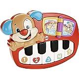 Fisher-Price DLD21 Lernspaß Piano Lernspielzeug für Farben Zahlen und Formen mit 9 Liedern, ab 6 Monaten deutschsprachig