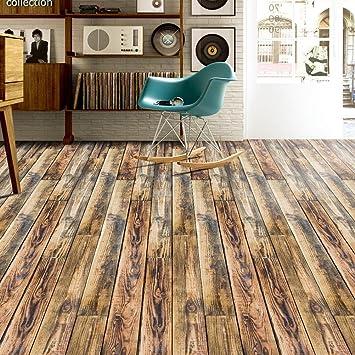 Minran Decor J 3d Holz Aufkleber Selbstklebende Bodenbelag Aufkleber