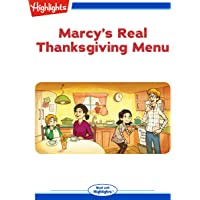Marcy's Real Thanksgiving Menu