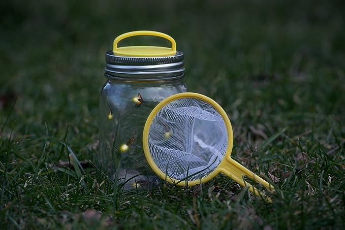 Jarware Firefly Catching Mason Jar Repurposing Lid Kit Fits Regular Mouth Jars