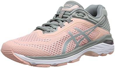 510ea929d2d ASICS Women's Gt-2000 6 Running Shoes, Pink (Frosted Rose/Stone Grey