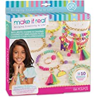 Make It Real – Fashion Design Sketchbook: Pastel Pop. Coloring Book for Girls. Includes Sketchbook, Stencils, Puffy and…