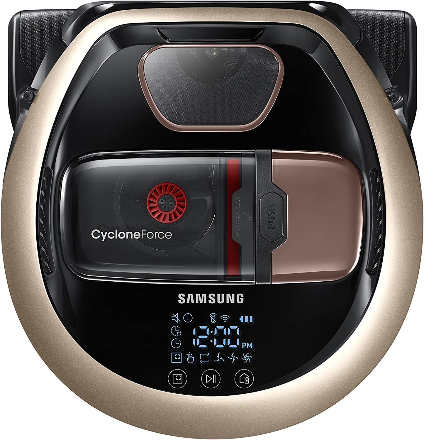 Samsung - POWERbot R7090 App-Controlled Robot Vacuum with Edge Clean