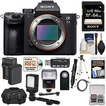 Amazon.com: Sony Alpha A7 III - Cuerpo de cámara digital 4K ...