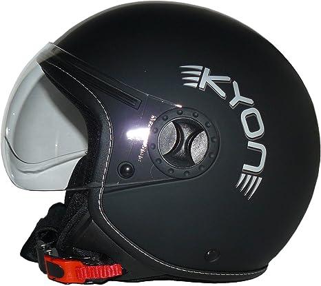 Casco de cara abierta en dise/ño piloto H710 stripes XS Protectwear