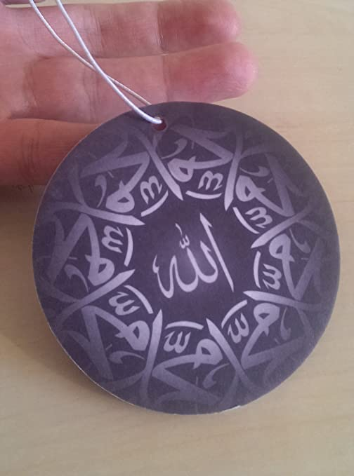 NLJYSH Car Ornaments Islam Muslim Crystal Car Rear View Mirror Car Pendant Hanging Car Styling Accessories adjustable