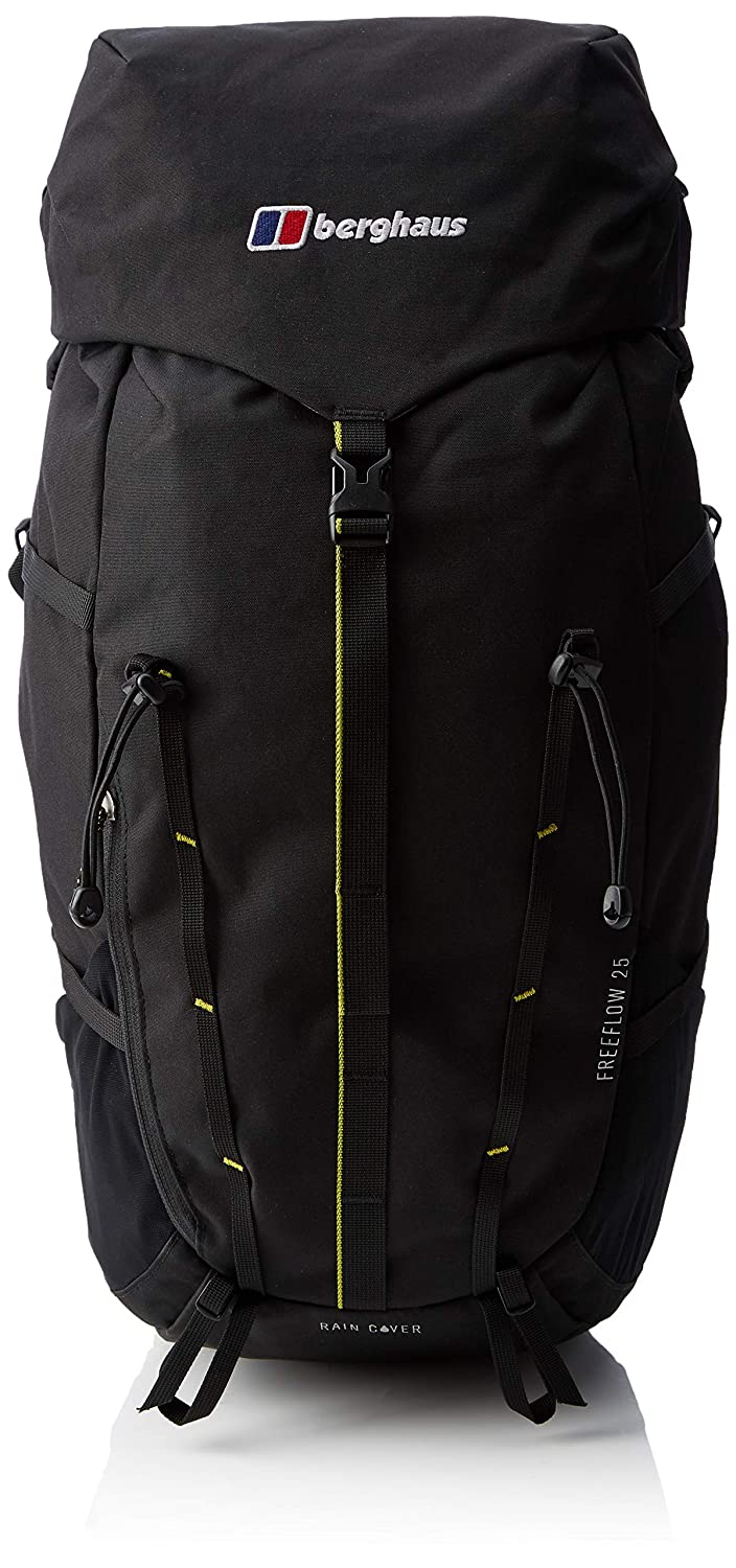 81bbe5692d83 Berghaus Freeflow Outdoor Backpack available in Black Black - 25 Litres   Amazon.co.uk  Sports   Outdoors