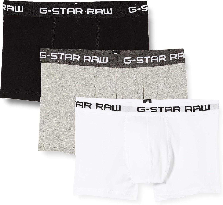 G-Star Raw Men's Classic Trunk 3 Pack