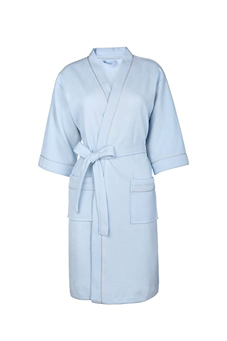 Towel Master Mens and Ladies 100% Cotton Terry Towelling Adults Shawl  Collar Bathrobe Dressing Gown Bath Robe (XL b5370a4aa