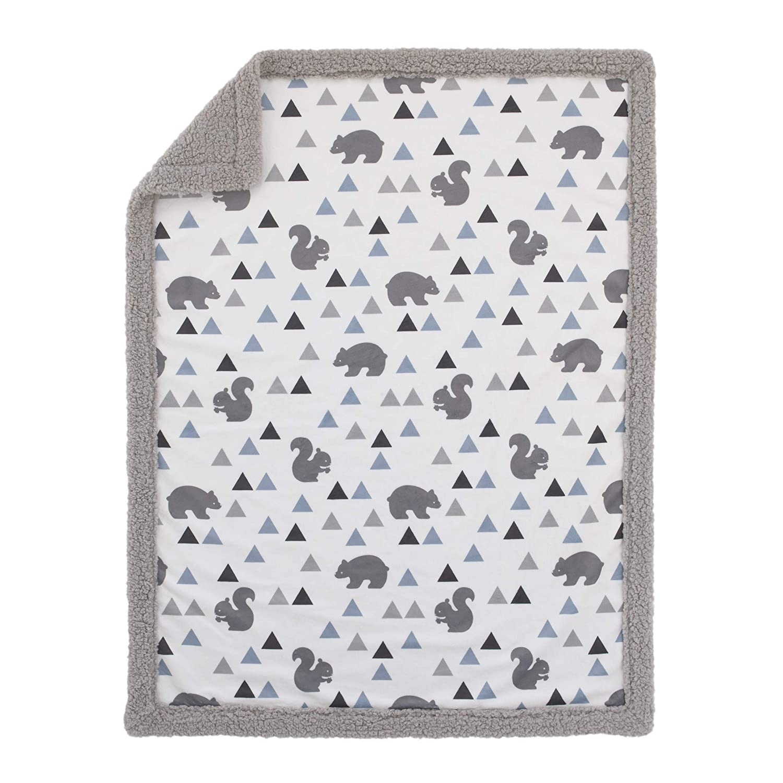 White XOXO 4-Piece Crib Bedding Set Black NoJo NoJo Gold